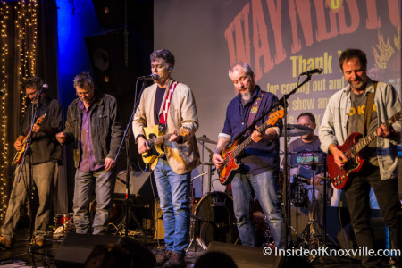 Todd Steed and Guests, Waynestock, Relix Variety, Knoxville Tells Reunion, Knoxville, January 2016