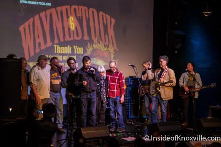 Wayne Bledsoe and Friends, Waynestock, Relix Variety, Knoxville, January 2016