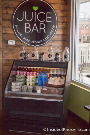 Bearden Location of Juice Bar, Knoxville, March 2016