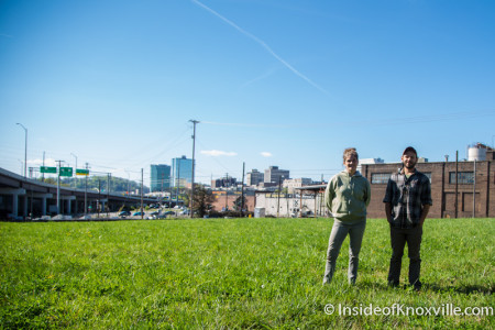 Brenna Wright and Daniel Ainsenbrey, Old City Gardens, 300 E. Depot, Knoxville, March 2016