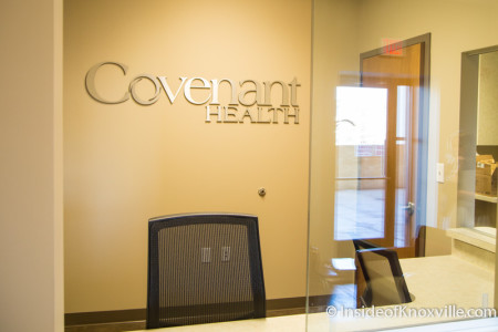 Covenent Health Downtown Clinic, 418 S. Gay Street, Knoxville, March 2016