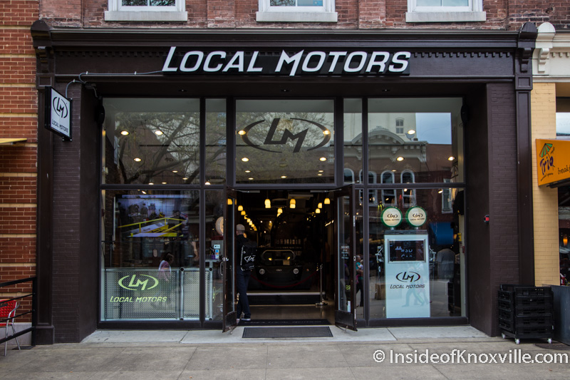 A market square business leaves another downtown business for Clayton motor co west knoxville tn