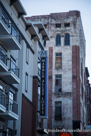 Marble Alley Lofts, Knoxville, March 2016