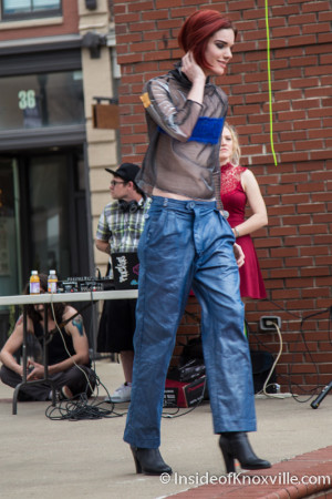 Obscurae Magazine Fashion Show, Market Square, Knoxville, March 2016