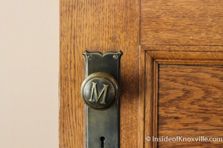 Original Interior Door Knobs, Ely Building, Knoxville, 2012