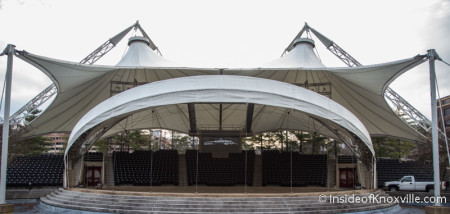 World Fair Park Amphitheater, Knoxville, March 2016