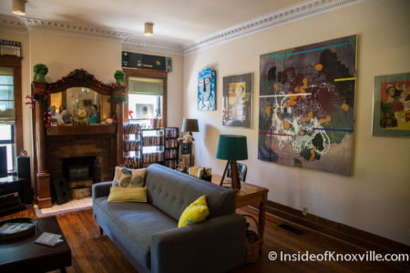 1003 Eleanor St., Fourth and Gill Home Tour, Knoxville, April 2016