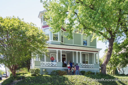 1003 Luttrell St., Fourth and Gill Home Tour, Knoxville, April 2016