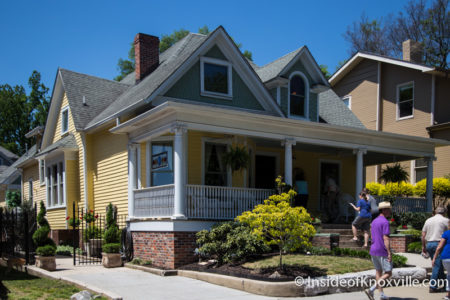 805 Eleanor St., Fourth and Gill Home Tour, Knoxville, April 2016