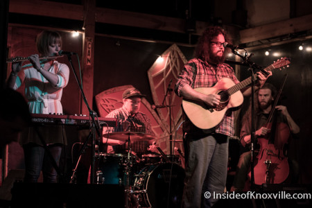 Bear Medicine, Kickoff Party for Rhythm n Blooms, Pilot Light, Knoxville, April 2016