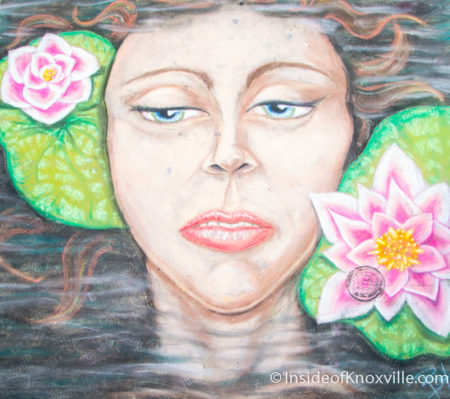 Brandi Hood, Dogwood Arts Chalk Walk, Knoxville, April 2016