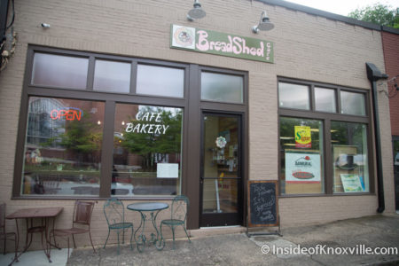 Breadshed Cafe, 1122 N. Broadway, Knoxville, April 2016