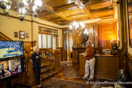 Greystone Mansion, 1306 Broadway, Fourth and Gill Home Tour, Knoxville, April 2016