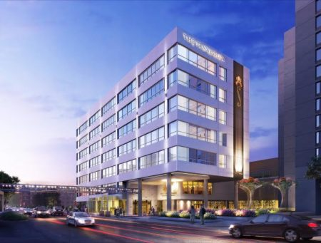 Outside Rendering of the Tennessean