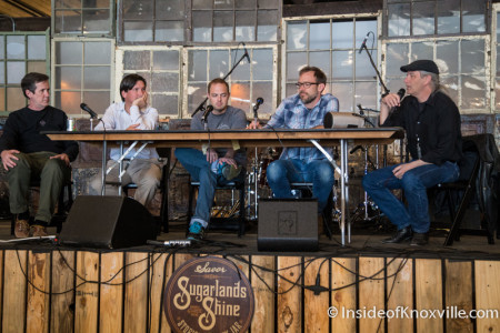 Panel on Re-claiming Spaces, Jackson Terminal, Rhythm n Blooms, Knoxville, April 2016