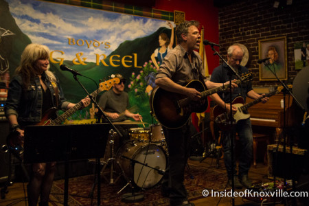 RB Morris and the Tim Lee Three, Boyd's Jig and Reel, Big Ears, Knoxville, 2016