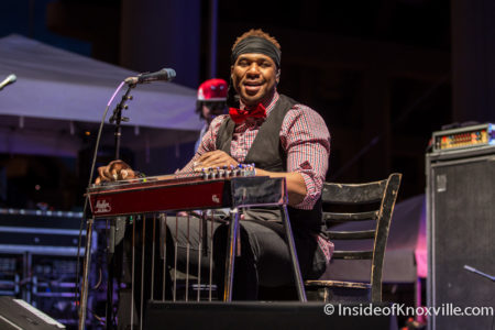 Robert Randolph, Rhythm n Blooms, Knoxville, April 2016
