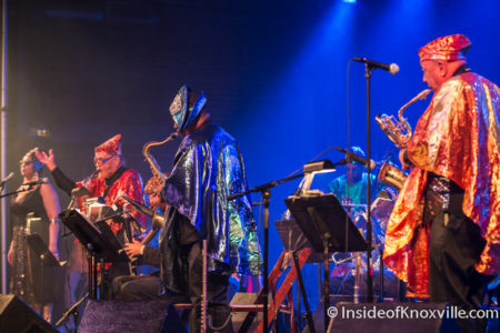 Sun Ra Arkestra, The Mill and Mine, Big Ears, Knoxville, 2016