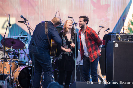 The Lone Bellow, Rhythm n Blooms, Knoxville, April 2016