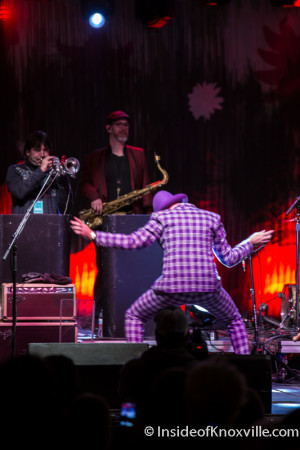 The Mavericks, Rhythm n Blooms, Knoxville, April 2016