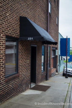 221 Event Space, 221 Cumberland Ave., Knoxville, May 2016