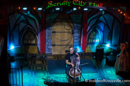 Ben Sollee, Scruffy City Hall, Knoxville, April 2016