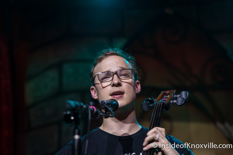Saturday Sounds: Ben Sollee at Scruffy City Hall