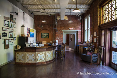 Blue Slip Winery, 300 W. Depot Ave., Knoxville, May 2016