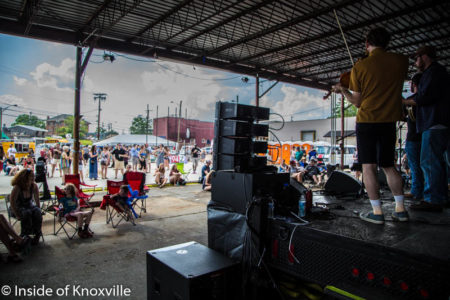 Central Street Block Party, Knoxville, May 2016