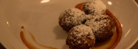 Chocolate Zeppole, Emilia, 16 Market Square, Knoxville, May 2016