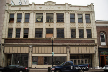 Kress Building, 417 S. Gay, Knoxville, May 2016