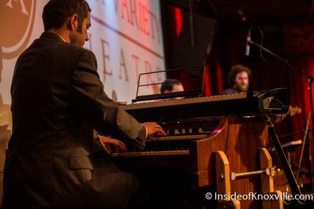 Matt Coker of Devan Jones and the Uptown Stomp, BB King Tribute, Relix Theatre, Knoxville, May 2016