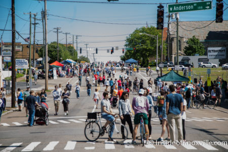 Open Streets, Central St., Knoxville, May 2016