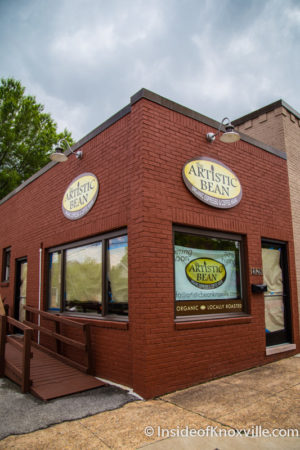 The Artistic Bean, 1322 N. Broadway, Knoxville, May 2016