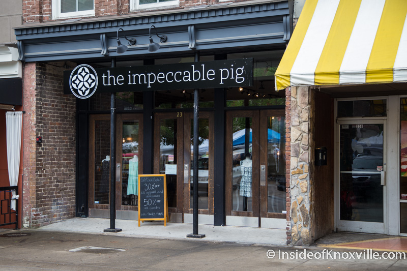The Impeccable Pig Closes on Market Square