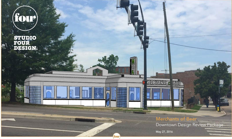 Merchants of Beer Slated to Open This Fall in Old Diner