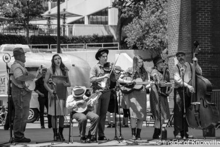 Knoxville Stomp Festival, Market Square, May 2016