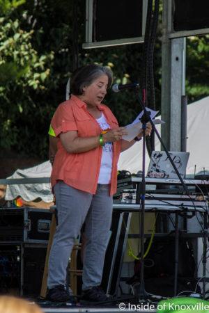 Mayor Rogero, Pridefest, Knoxville, June 2016
