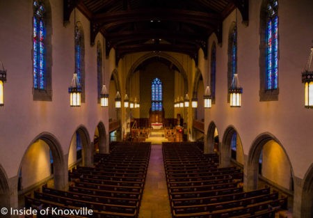 Nave, Church Street United Methodist Church, Knoxville, May 2016
