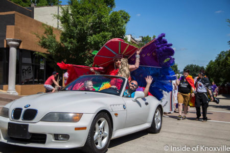 Pride Parade, Knoxville, June 2016