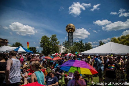 Pridefest, Knoxville, June 2016