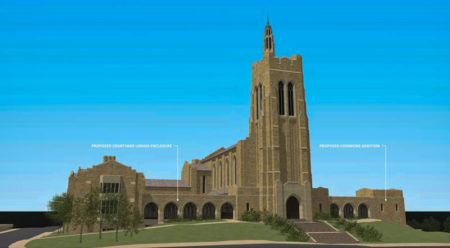 Rendering of Proposed Changes to Church Street United Methodist Church, Knoxville, May 2016