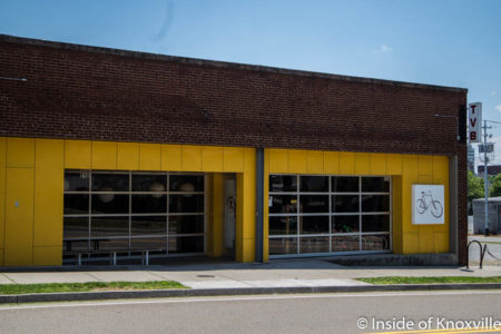 Tennessee Valley Bikes, 214 W. Magnolia, Knoxville, June 2016
