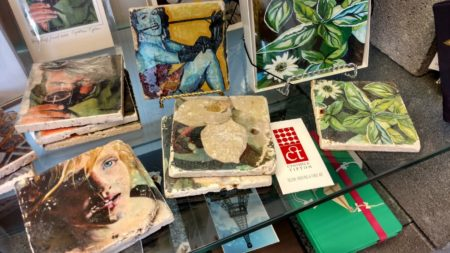 Coasters by Cynthia Tipton, Broadway Studios and Gallery, Knoxville, July 2016 - 3