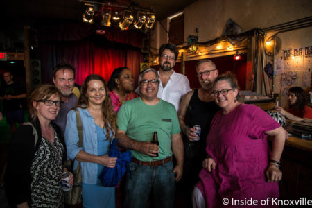 Friends Gathered at Pilot Light, Knoxville, Summer 2016
