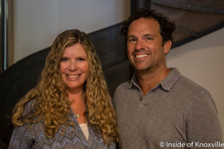 Lisa Sorenson and Scott Schimmel, Bliss, Bliss Home and Tori Mason, Knoxville, July 2016