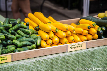 Market Square Farmers' Market, Knoxville, July 2016