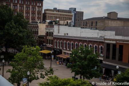 Market Square, Knoxville, Summer 2016