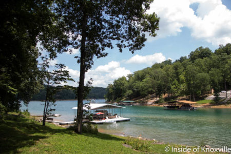 Norris Lake, East Tennessee, July 2016