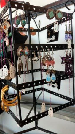 Vinatage Earings, Broadway Studios and Gallery, Knoxville, July 2016